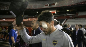 Pablo Pérez respondió al fallo del TAS. AFP