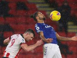 Calvert-Lewin gives Everton a boost. AFP