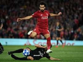 Salah has had a slow start to the season, albeit having scored twice so far. AFP