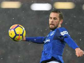 Sigurdsson's goal sealed the three points for Everton. AFP