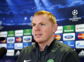 Neil Lennon's Celtic got the season off to a perfect start in Sarajevo. AFP