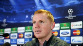 Neil Lennon has been offered the Celtic job. AFP