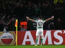 La somme colossale que touchera le Celtic pour le transfert de Tierney. AFP
