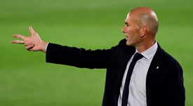 King Zidane: a title every 19 games on average. AFP