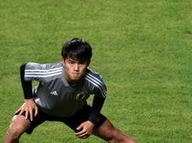 Kubo spoke before Mallorca-Madrid. AFP