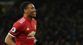 Mourinho will reluctantly accept Martial's departure. AFP