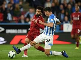 Salah marcó la diferencia. AFP