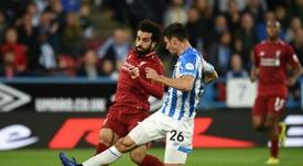 Liverpool - Huddersfield Town: onzes iniciais confirmados. AFP