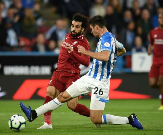 Liverpool - Huddersfield Town: onzes iniciais confirmados. AFP