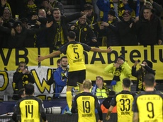 Hakimi double seals stunning Dortmund win over Inter. AFP