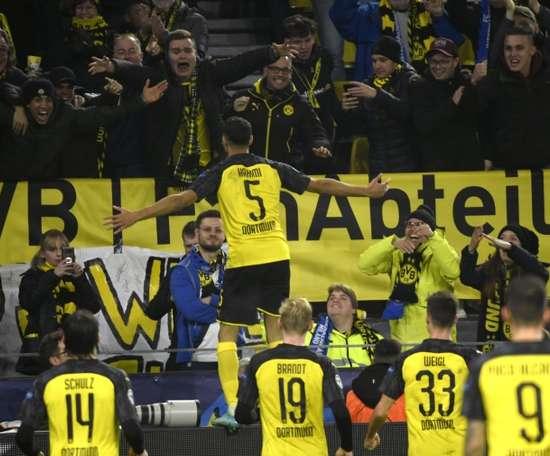 Hakimi double seals stunning Dortmund win over Inter. AFP