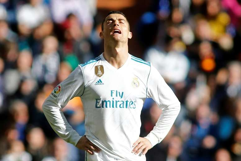 Cristiano Ronaldo pourrait gagner une récompense. AFP