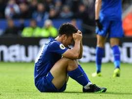 El Leicester no levanta cabeza en Inglaterra. AFP/Archivo