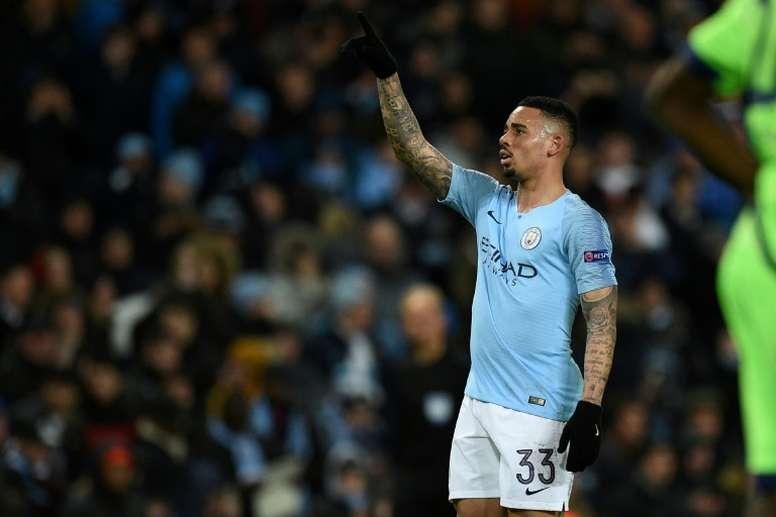 Gabriel Jesus analysed Pep Guardiola. AFP