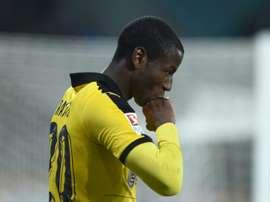 Adrian Ramos ne jouait plus beaucoup avec Dortmund. AFP