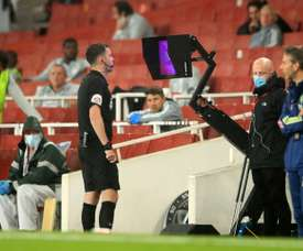 Arsenal boss Arteta bemused by VAR role in Nketiah's red card. AFP