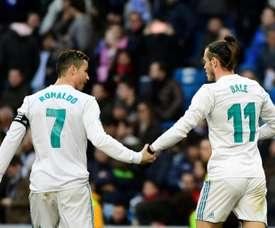 Nadie corre como Bale. AFP