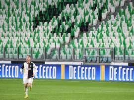 Cristiano Ronaldo aceitou baixar seu salário. AFP