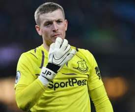 Pickford has personality to brush of criticism, says Ancelotti. AFP