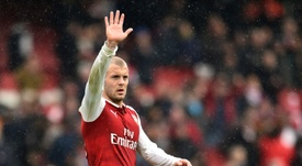 Wilshere moved to West Ham. AFP