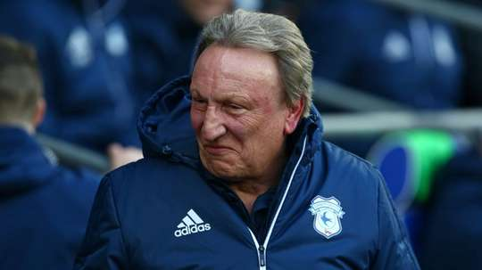 Neil Warnock enjoyed hsi side's performance, even though they lost. AFP