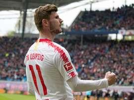 Werner teria decidido ir ao Liverpool. AFP