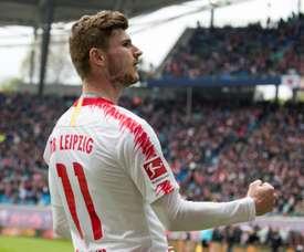 Werner disputado por gigantes. AFP