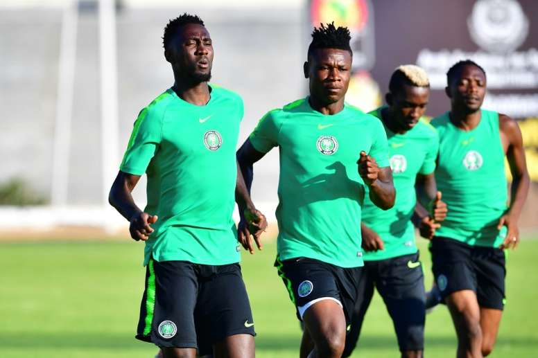 Samuel Kalu has been cleared to return for Nigeria's second AFCON game. AFP