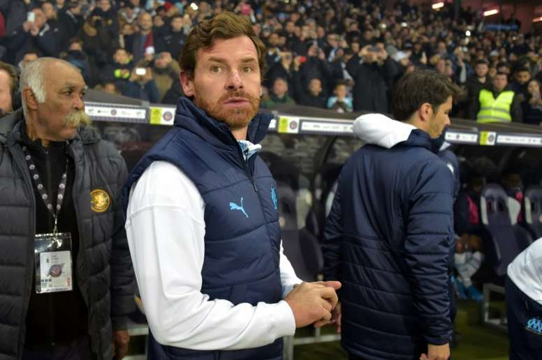 Villas-Boas guided Marseille to a three-match winning run. AFP