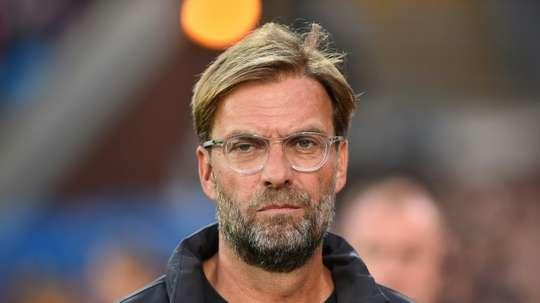 Manager Jurgen Klopp denies Amazon access to film inside Liverpool dressing room. AFP
