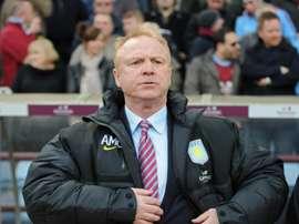 L'ancien coach d'Aston Villa prend la sélection écossaise en main. AFP