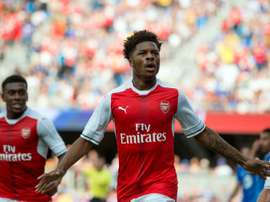 Chuba Akpom failed to make an impression in Arsenal´s first team. AFP