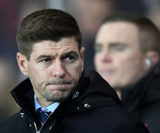 Gerrard all set on staying at Rangers. AFP