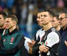 A Serie A oficializou o adiamento através de um comunicado. AFP