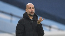 Pep Guardiolas Manchester City are on a run of six successive wins in all competitions. AFP