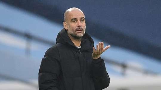 Pep Guardiola a perdu espoir pour Eric García. AFP