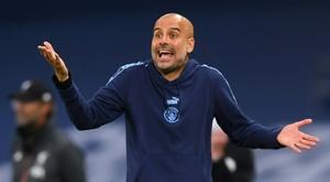 Pep Guardiola exige des transferts. AFP