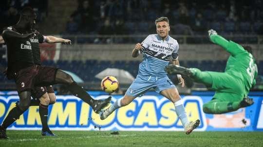 Tarde de gala para despedir otra jornada de Serie A. AFP