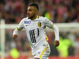 Boufal in action for Lille. AFP