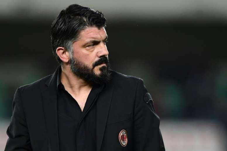 Gennaro Gattuso piensa en cómo mejorar la plantilla. AFP