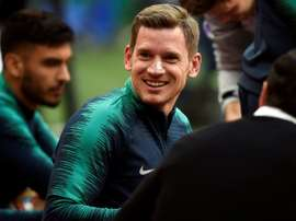 Vertonghen spoke about his teammate's future. AFP