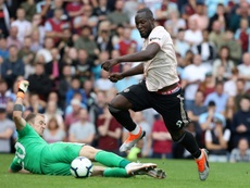 Romelu scored a brace as Manchester United beat Burnley at Turf Moor. AFP