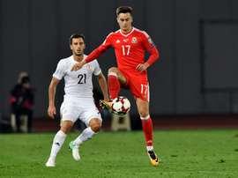 Gales vence a Geórgia fora de casa e sem Bale. AFP