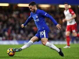 Hazard has not yet signed his new contract with Chelsea. AFO