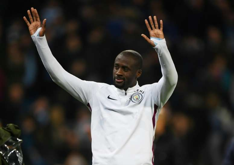 Yaya Toure joins Chinese club Qingdao Huanghai. AFP