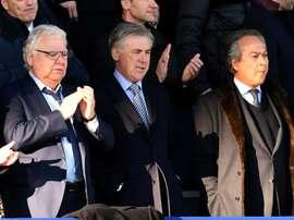 Les compos probables du match de Premier League entre Everton et Burnley. AFP