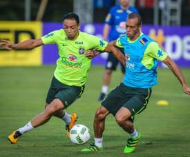 Brazil players training before the friendlies. BeSoccer