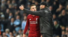 Liverpool joue un match important. AFP