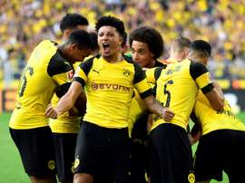 Sancho is the trailblazer for young English talent abroad. AFP