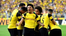 Sancho is impressing at Dortmund. AFP